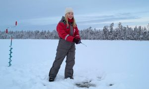 Ice Fishing safari in Rovaniemi, Lapland